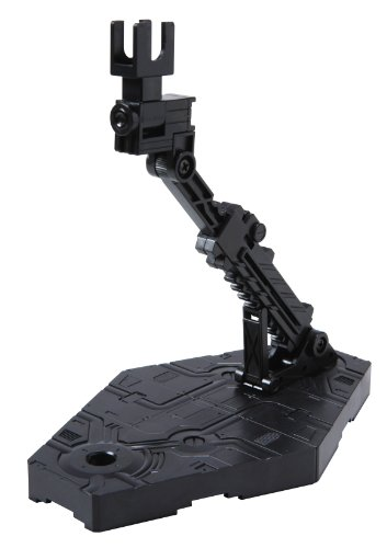 Bandai Hobby Action Base 2 Display Stand (1/144 Scale), Black