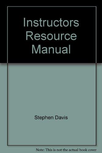 Descargar Libro Instructors Resource Manual Stephen Davis