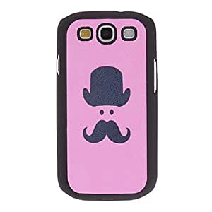 JOE Lovely Face Pattern PU Leather Hard Case for Samsung Galaxy S3 I9300