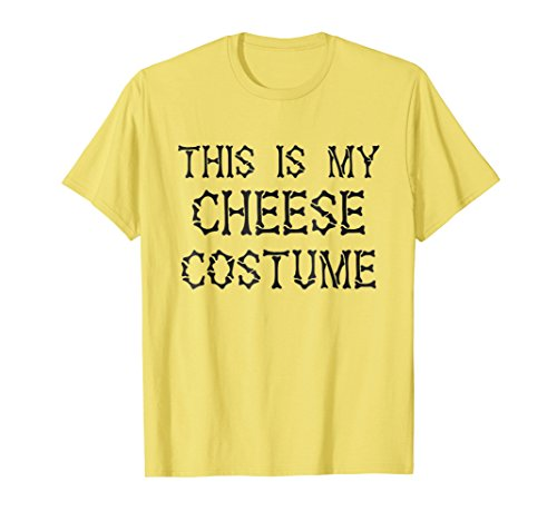 This is my Cheese Costume T-Shirt Halloween -
