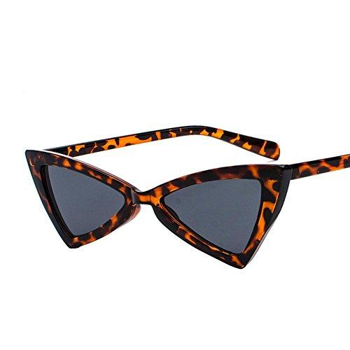 Aoligei Cadre grand européen et américain lunettes de soleil carrées personnalité Chao visage féminin avantgarde petit soleil œil PFd1OL