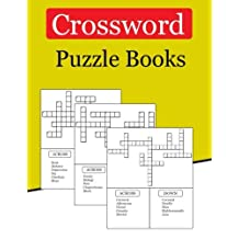 Crossword Puzzle Books: 300 Crossword Puzzle for Adults Bigger & Better with Fresh Content (Crossword Puzzles Books Large Print)