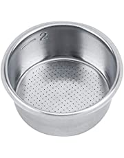 Filter Basket Stainless Steel Coffee Non Pressurized Filter Siver Basket Strainer Coffee Filter Basket Holder Coffee Machine Accessories Coffee Filters for Breville