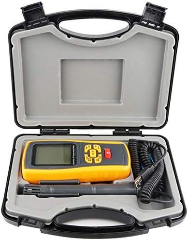 REFURBISHHOUSE Industrielles Digitales Thermometer Hygrometer K-Typ Thermo Elements FüHler Labor Luft Feuchtigkeits Thermometer Rekorder