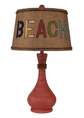 Coast Lamp Weathered Coral Smooth Genie Bottle Table Lamp...