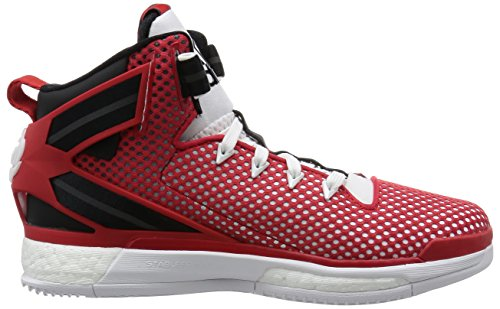 scarlet ftwr De Blanc Rose Homme Basketball Chaussures Derrick 6 core Black Boost White Adidas xPfq8zx