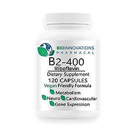 Bio-Innovations B2-400 Riboflavin 400 mg (120 Vegetable Capsules)
