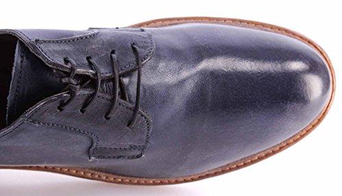 Vintage Neue Made Leder Cusna Italy Schuhe 2F Uniform MOMA Herren 20503 Blau qwR87xaS