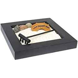 Eve's Zen Garden Kit Wooden, Everything Needed to Create Your Own Zen Garden Wooden, Relieve Stress and Relax!