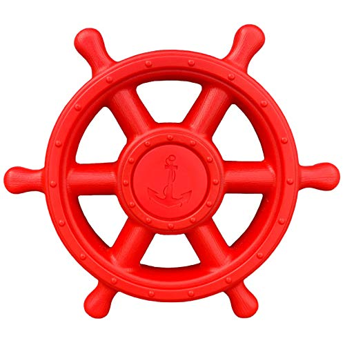 - Squirrel Products Pirate Ship Wheel - Swing Set Accessories
