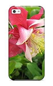 [rPgSgmS2412YyzjK]premium Phone Case For Iphone 5c/ Columbine Flower Tpu Case Cover