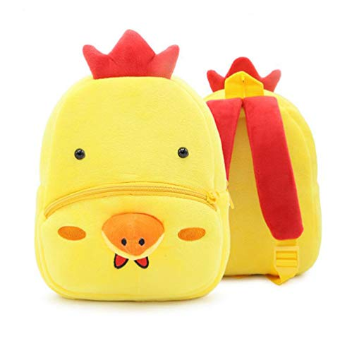 Cute Cartoon Unicorn/Giraffe/Hippo/Panda/Lion/Monkey/Koala Backpack Bags Toys for Toddles Kids (Roster)