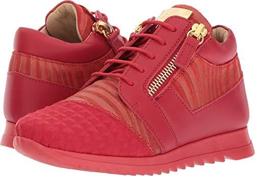Giuseppe Zanotti Kids Unisex Stud Sneaker (Toddler/Little Kid) Red 29 M EU M by Giuseppe Zanotti Kids (Image #3)