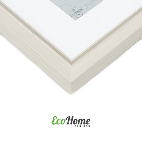 EcoHome 8x10 Picture Frame or 5x7 - Matted, Light Wood Tone by Eco-home (Image #2)