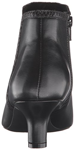 Rockport Women's Kimly Ankle Bootie Black Leather outlet official site GyJQO44