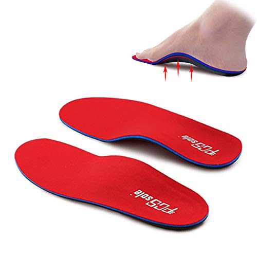 PCSsole Orthotic Arch Support Shoe Inserts Insoles for Flat Feet,Feet Pain,Plantar Fasciitis,Insoles for Men and Women