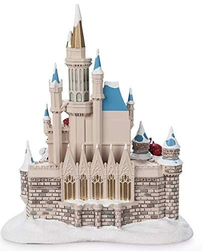 41zLF0dyg4L Disney Parks Mickey and Friends Cinderella Castle Holiday Figure