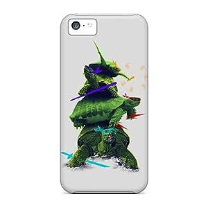 [PZb1186vTHz] - New Realistic Ninja Turtles Protective Iphone 5c Classic Hardshell Case