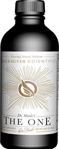 Quicksilver Scientific The ONE Mitochondrial Optimizer - BioPQQ, Resveratrol + 13 Adaptogenic Ultra Energy Herbs (3.38oz / 100ml)