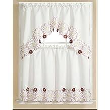 RT Designers Collection Adrianna Kitchen Curtain, 30-Inch X 36-Inch