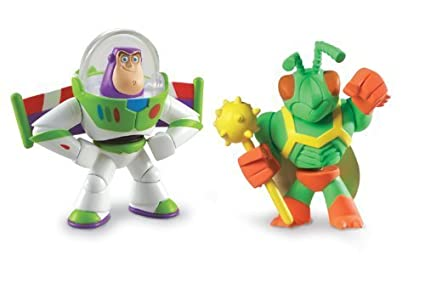 Amazon.com: Toy Story 3 Buddy figure 2 pack Hero Buzz ...