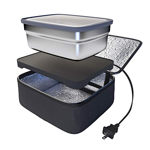 Skywin Portable Oven and Lunch Warmer - Personal Food Warmer for reheating meals at work without an office - Cooking Driver Truck