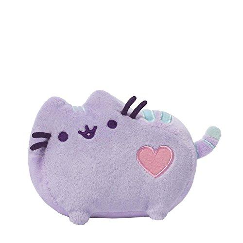 GUND Pusheen Pastel Purple Heart Plush