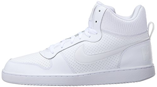 Blanc Pour Homme Aa Nike blanc Baskets Court Borough Mid BYqIY1