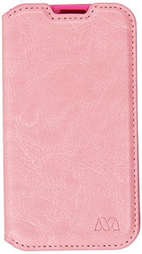 Asmyna MyJacket Wallet with Tray for LG MS323 Optimus L70 - Retail Packaging - Pink (Lg L70 Optimus Phone Case)
