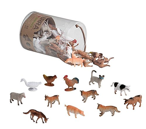 Terra - Farm Animals Mini Figure Set - 60pcs
