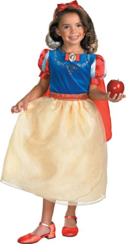 Disguise Snow White and the Seven Dwarfs Deluxe Toddler-Child Costume (7 Dwarfs Costume)