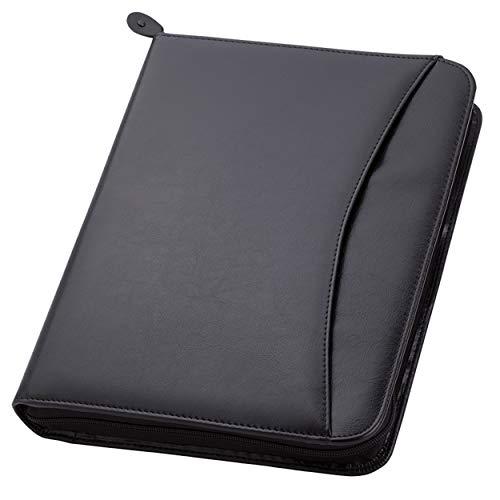 Travigo 3-Ring Zipper Portfolio | Simulated Leather | 1.25