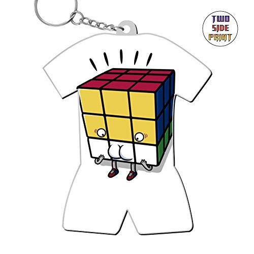 - Funny Keychain Unexpected Rotation Keyring World Cup Polo Shirt Logo Key Ring Key Fob Alloy Nice Gift