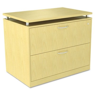Alera SE513622MP SedinaAG Series Two-Drawer Lateral File, 34-1/4w x 22d x 29-1/2h, Maple ()