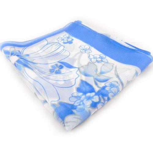 Les Trésors De Lily [H2235] - Echarpe femme 'Vahiné' bleu