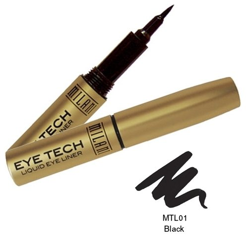 (6 Pack) MILANI Eye Tech Liquid Liner - Black by Milani