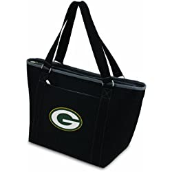PICNIC TIME NFL Green Bay Packers Topanga Insulated Cooler Tote, Black