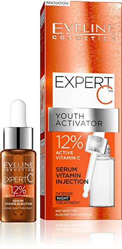 Expert C Youth Activator Serum Injection with 12 Percent Active Vitamin C from Eveline Cosmetics