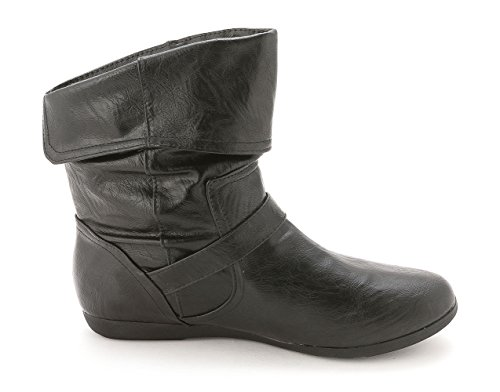 Black Brunella Womens Smth Boots Rampage Ankle Closed Working Toe g1wqB