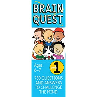 Brain Quest 1st Grade Q&A Cards: 750 Questions and Answers to Challenge the Mind. Curriculum-based! Teacher-approved! (Brain Quest Decks)