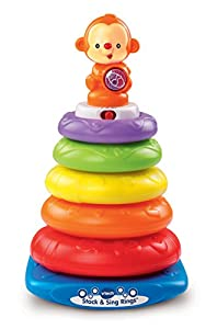 VTech Stack & Sing Rings (Frustration Free Packaging)