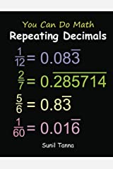 You Can Do Math: Repeating Decimals Paperback