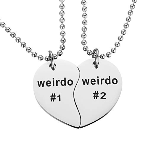 Jewelady Best Friend Necklaces BFF Necklaces for