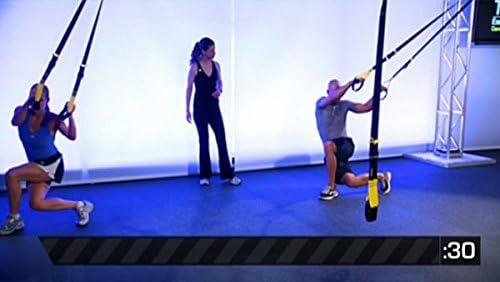 TRX - DVD de circuito de entrenamiento de cardio con ejercicios de entrenamiento en suspensión con peso corporal y los beneficios anaeróbicos del ...