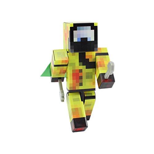 (EnderToys Biohazard Suit Action Figure Toy, 4 Inch Custom Series)