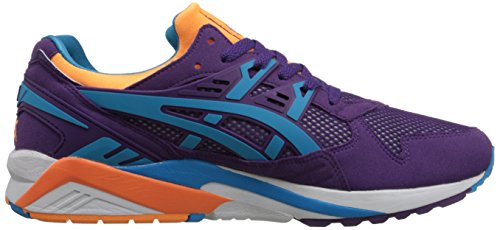 Zapato de running retro Gel-kayano Trainer para hombre, morado / azul at¨®mico, 5 m US
