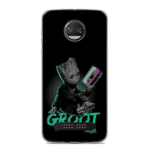 Z 2018/Z2 Force Case,Flexible Slim Silicone TPU Protector Cover Soft Thin Gel Skin for Moto Z 2018/Z2 Force-Cute Baby Groot -
