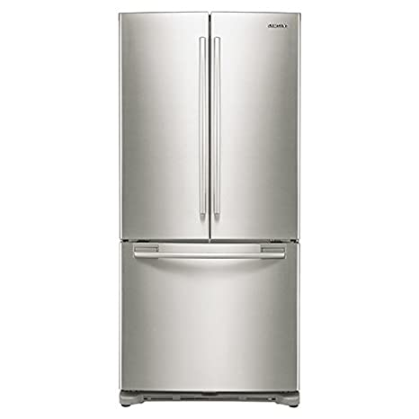 Amazon samsung rf18hfenbsr counter depth french door samsung rf18hfenbsr counter depth french door refrigerator 175 cubic feet stainless steel publicscrutiny Images