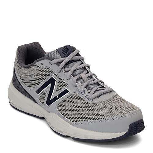 New Balance Men's MX517v1 Training Shoe, Grey/Navy, 9 D US