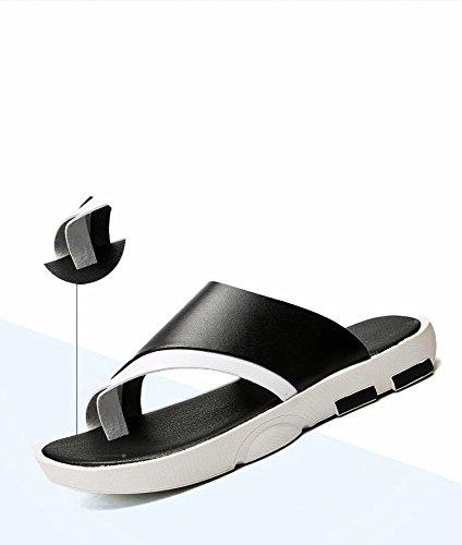 WFL da abbigliamento da uomo uomo spiaggia sandali uomo da Nero da Sandali ciabatte estiva infradito uomo marea antiscivolo moda da scarpe 7wqwS0ztr